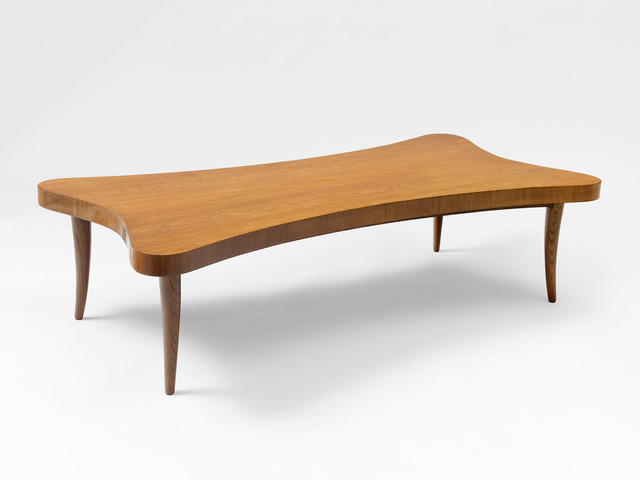 ", '""trefle"" coffee table,' ca. 1955, Galerie Jacques Lacoste"