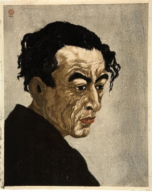 , 'Portrait of Hagiwara Sakutarō ,' 1949, Rijksmuseum
