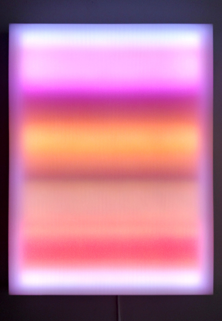 , 'Liminal Gradient,' 2015, CONNERSMITH.