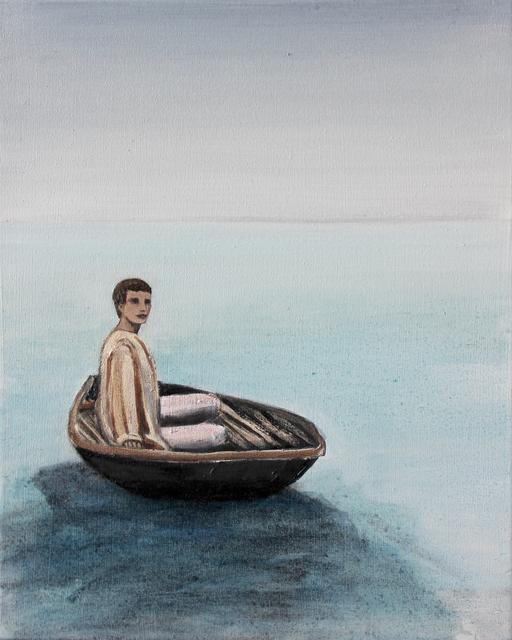 Matthew Krishanu, 'Coracle', 2018, Painting, Oil on canvas, Jhaveri Contemporary