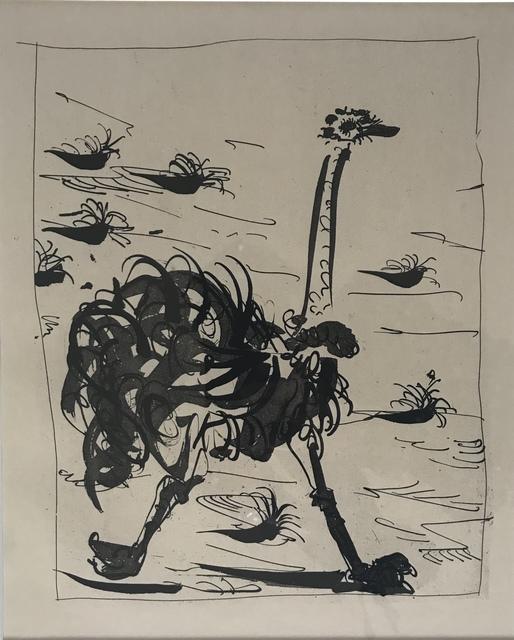 Pablo Picasso, 'La Otruche (The Ostrich)', 1936, Les Yeux du Monde Gallery