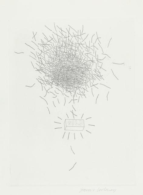 David Hockney, 'Gold', 1969, TAI Modern