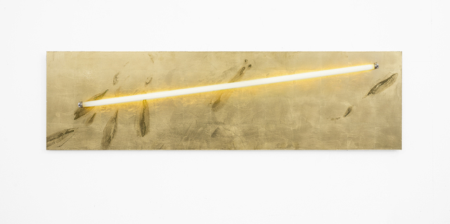 , 'Sweat print, light panel no. 1,' 2018, SMAC