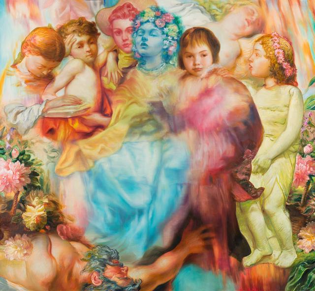 , 'Petunia Parade,' 2016, Philip Slein Gallery