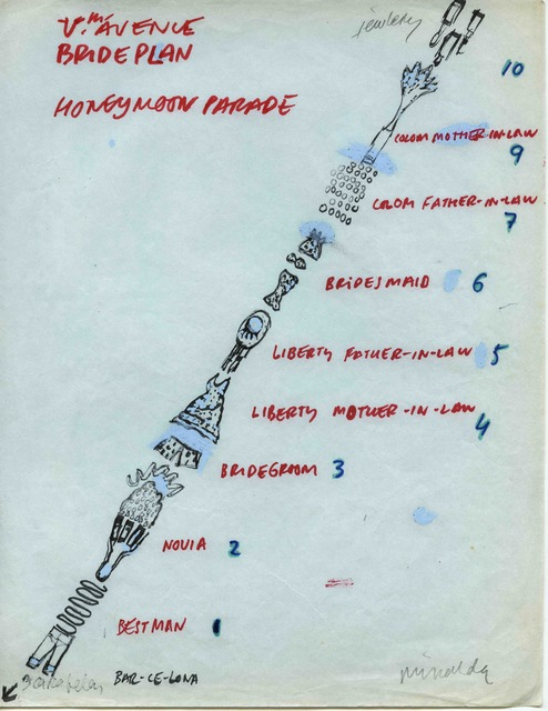 Antoni Miralda, 'Bridal Plan', 1986-1992, Henrique Faria Fine Art