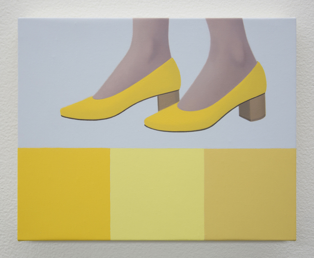 , 'New Shoes in Yellow,' 2019, Night Gallery