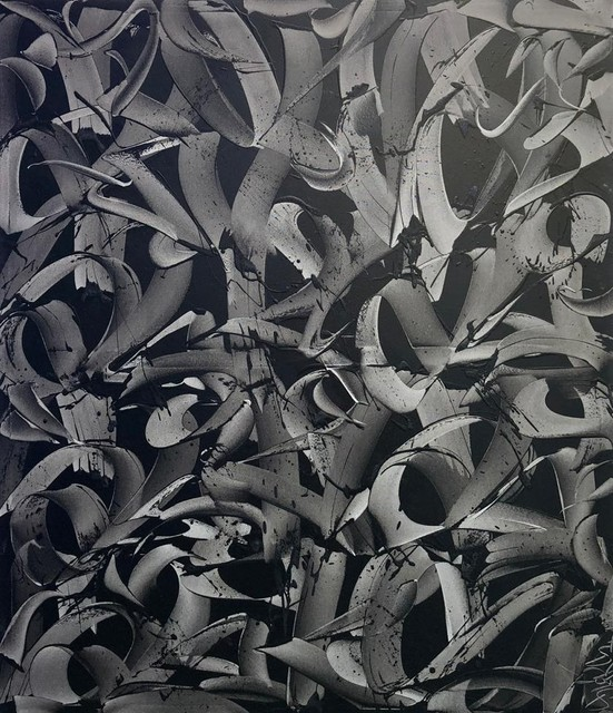 Rafael Sliks, 'Raizes Canvas', 2019, Painting, Oil On Canvas, Ground Effect Gallery
