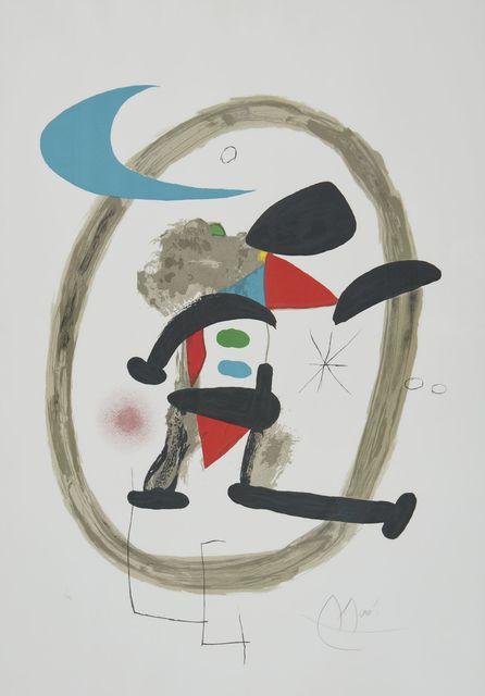 Joan Miró, 'Arlequin Circonscrit', 1973, Childs Gallery