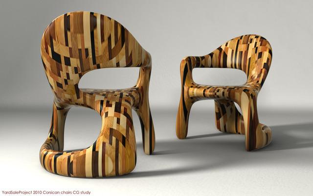 , 'Corsican Chairs,' 2011, Todd Merrill Studio