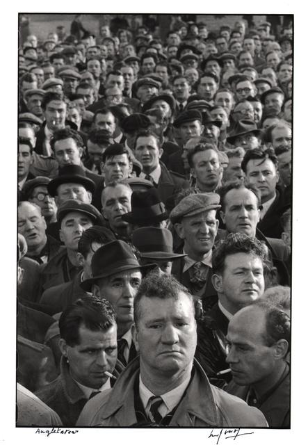 , 'Docker's strike in London.,' 1954, Atlas Gallery