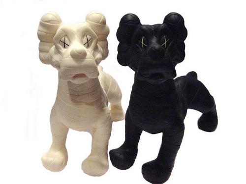 KAWS, 'Zooth Dogs (Black & White)', 2007, MSP Modern