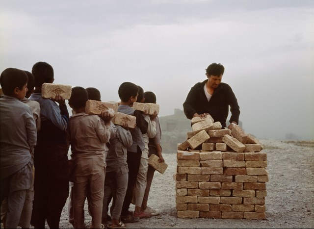 , 'Brick sellers of Kabul 4,' 2007, Giorgio Persano