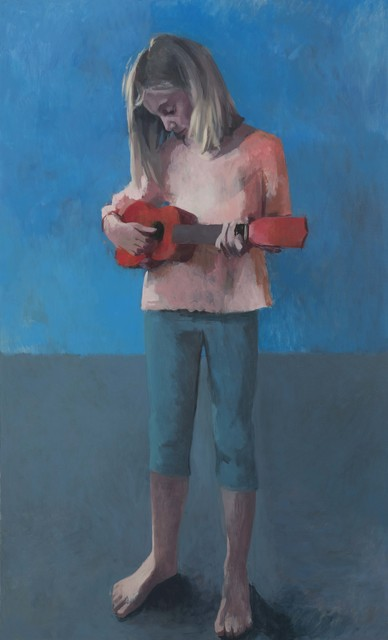 Claerwen James, 'Girl With a Ukulele 4', 2018, Flowers