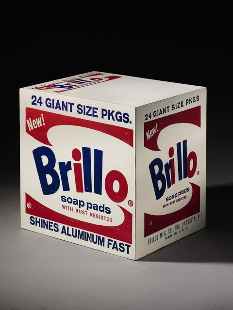 , 'Brillo Soap Pads Box,' 1964, Peter Freeman, Inc.