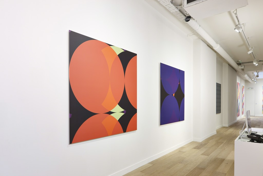 Tim Head: Fictions, Installation view, Parafin, London, 2014. Photo: Peter Mallet