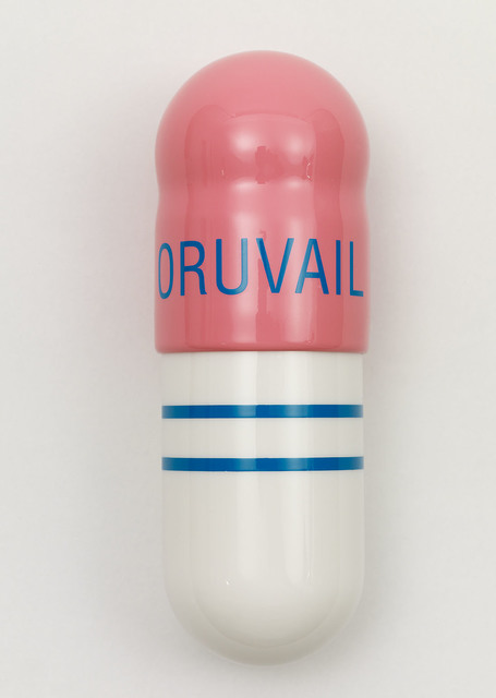 Damien Hirst, 'Oruvail 200mg', 2014, Sculpture, Polyurethane resin with ink pigment. 2014. Edition of 30. Numbered, signed and dated in the cast., Paul Stolper Gallery
