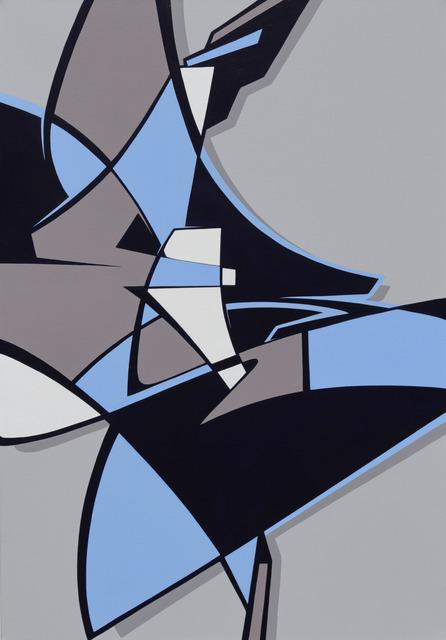, 'Between the Sky-Scrapers,' 2018, Galerie Matthew Namour