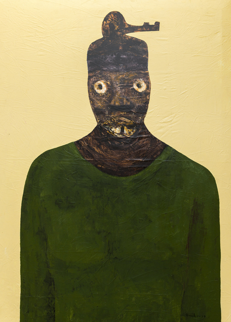 Sambou Diouf, 'Zeumb', 2019, Painting, Mixed media on canvas, OH GALLERY