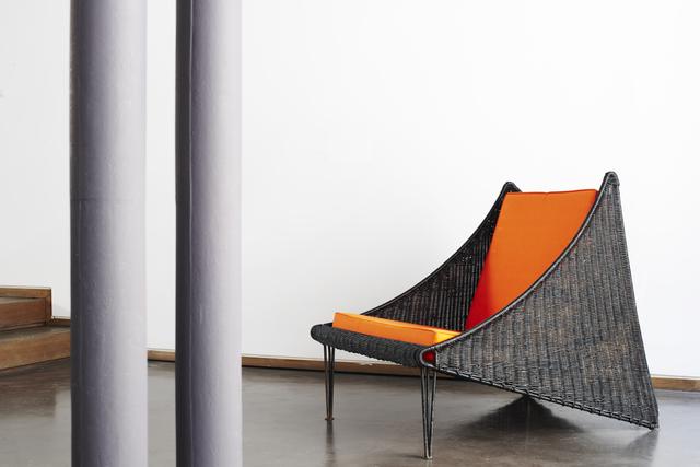 ", '""Ferotin"" armchair,' 1952, Jousse Entreprise"