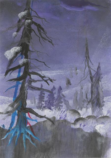 , 'Winters-Grimm,' 2016, Galerie Kleindienst
