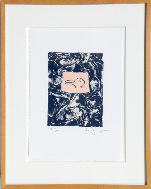 Jasper Johns, 'Rabbit/Duck', 1990, RoGallery
