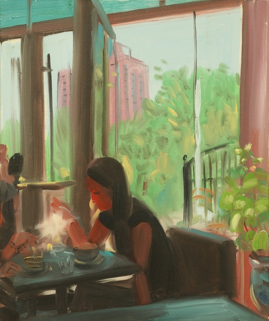 , 'café,' 2018, PIFO Gallery