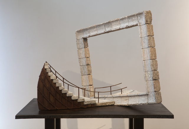 , 'Theater of the Wind (small of larger public art sculpture),' 2013, Khawam Gallery