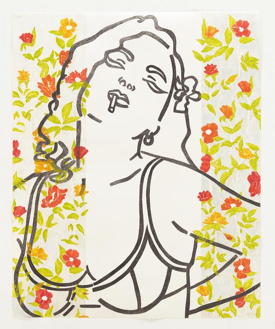 , 'El Amor de la Rosa Roja,' 2012, Tina Kim Gallery