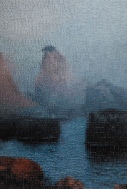 , 'atrophy, 260x180 cm,' 2016, Merkur