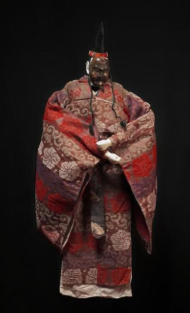 , 'Okina marionette with mask,' Early 20th century, Musée national des arts asiatiques - Guimet