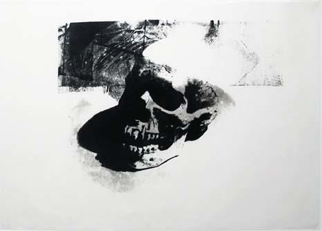 , 'Skull, III.1b,' ca. 1976, Hamilton-Selway Fine Art