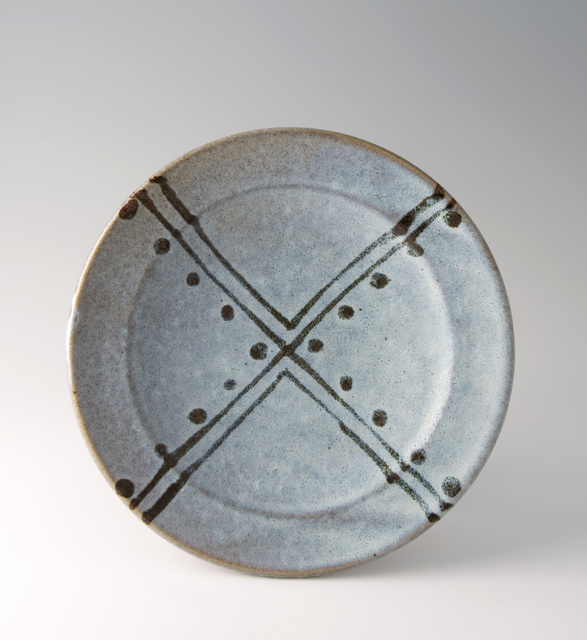 , 'Plate, white glaze with tensue decoration,' , Pucker Gallery