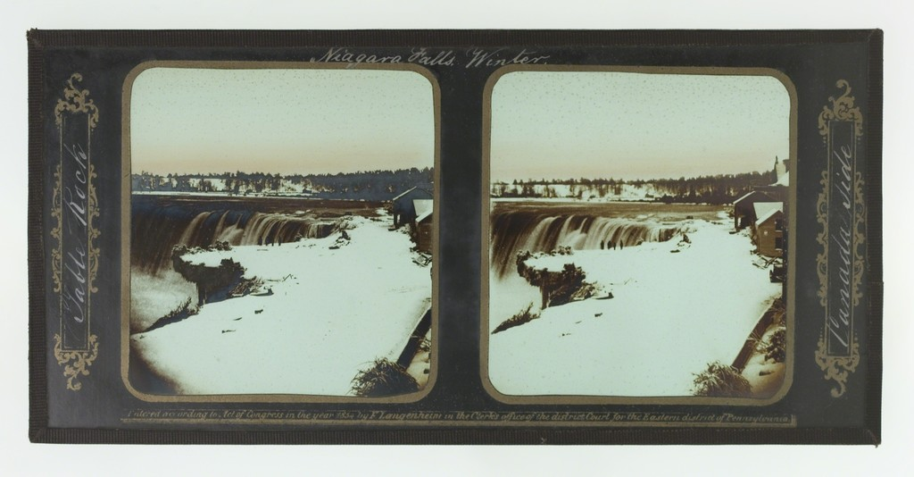 Winter, Niagara Falls, Table Rock, Canada Side