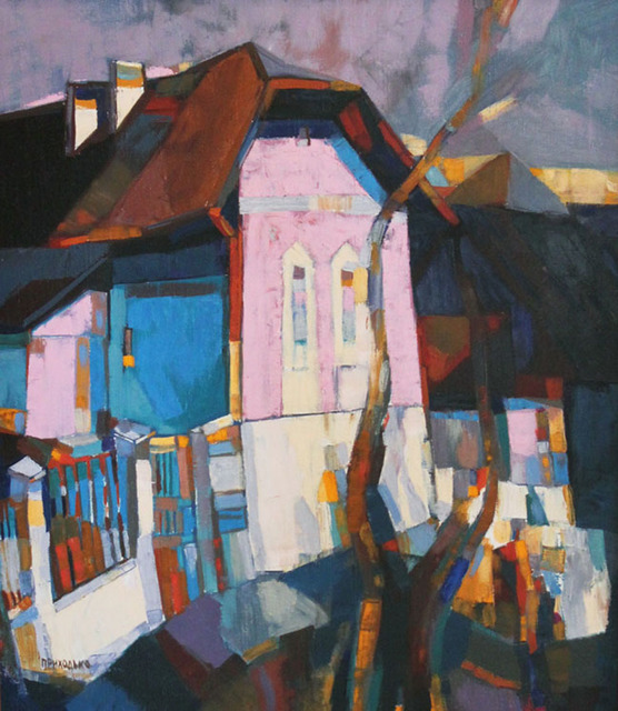 , 'City Landscape,' 1973, Paul Scott Gallery & galleryrussia.com