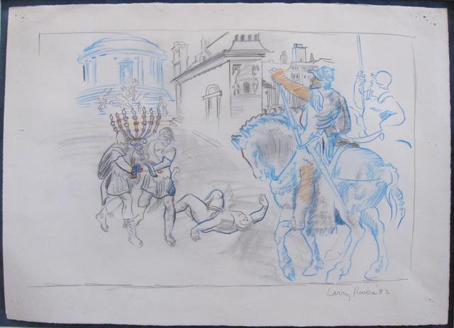 , 'Study for Macabees II,' 1982, Rosenfeld Gallery