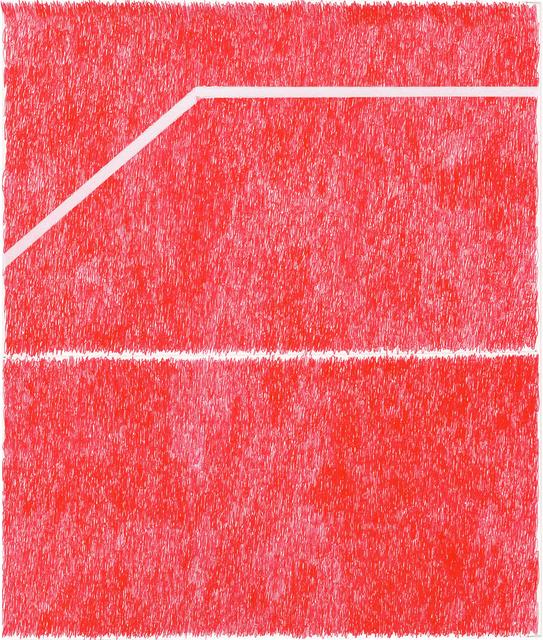 , 'Spray Red 3,' 2019, Haw Contemporary