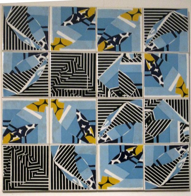 Mariana Lloyd, 'tiles', 2018, Mixed Media, Wood/tiles, Mercado Moderno