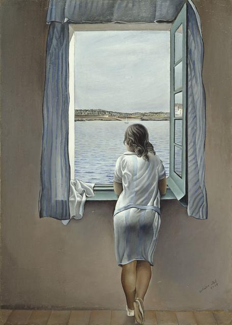 Salvador Dalí, 'Figura en una finestra (Figure at the Window)', 1925, Museo Reina Sofía