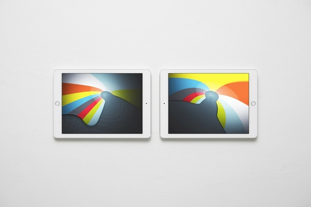 Massimo Grimaldi, 'Abstract Nostalgia, Images Shown on Two Apple iPad Air 2s', 2014, West Den Haag