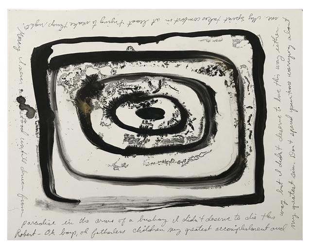, 'Psychic Portrait (Robert F. Kennedy),' 2015, Coagula Curatorial