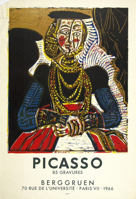 Pablo Picasso, 'After Cranach Poster for Exhibition at Berggruen, Paris (Executed by Dechamps)', 1966, Heather James Gallery Auction