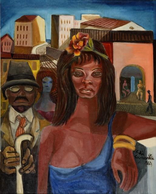 , 'Cena da Lapa ,' 1969, Galeria de Arte Ipanema