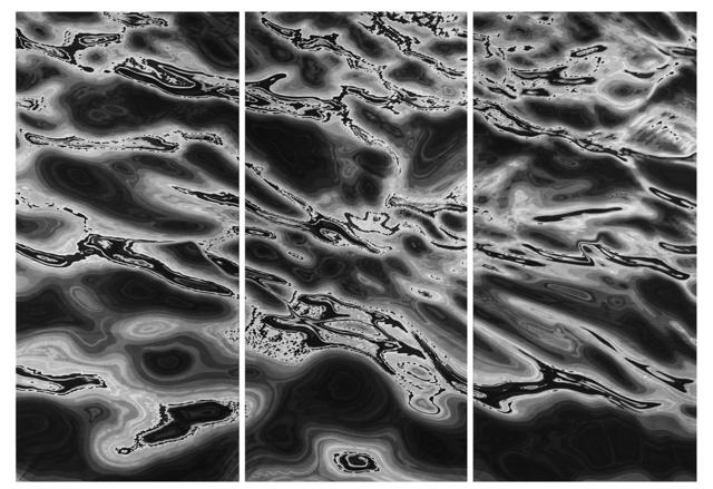 , 'Scrap Gold (Triptych) 碎金,' 2015, Amy Li Gallery