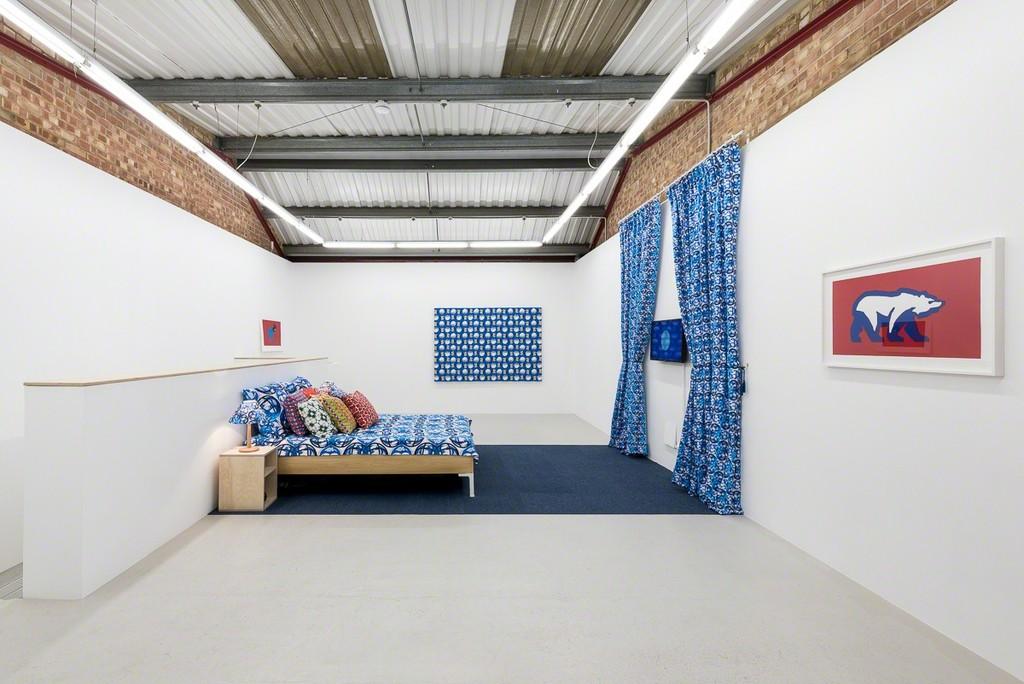 Installation view, Olivia Hernaïz at Annka Kultys, London, 2017 Photo: Annka Kultys Gallery (Damian Griffiths)