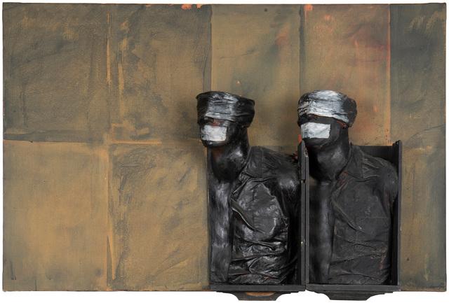 Rafael Canogar, 'The Blindfold', Mixed Media, Mixed media on canvas, John Moran Auctioneers