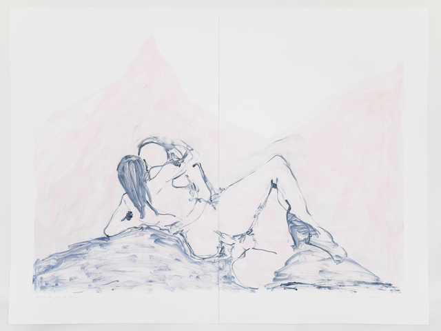 , 'Into the Pink and Blue,' 2015, Carolina Nitsch Contemporary Art