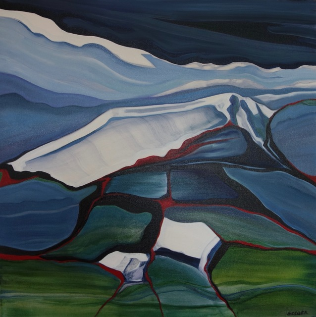 , 'Glacier Stone 2,' 2018, InLiquid