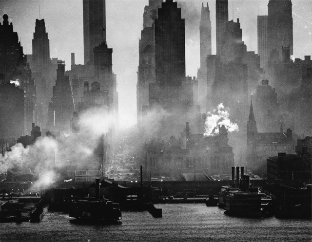 Andreas Feininger, 'East River on a Cold Day', circa 1948-printed circa 1960, Scott Nichols Gallery