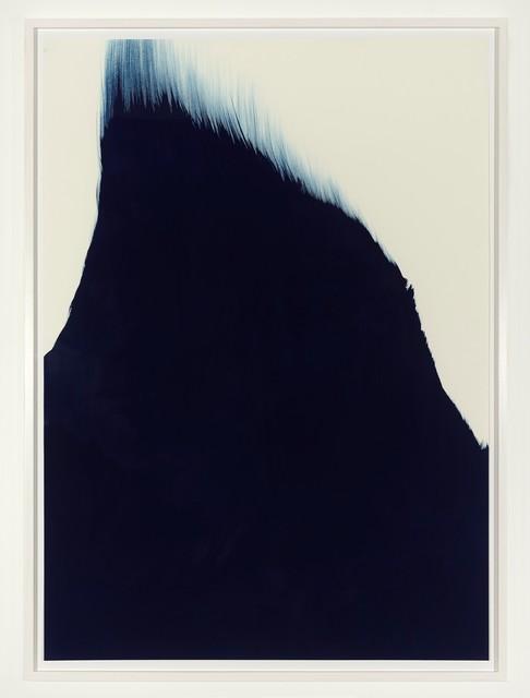 , 'Untitled (Parisblau),' 2009, Galerie Christian Lethert