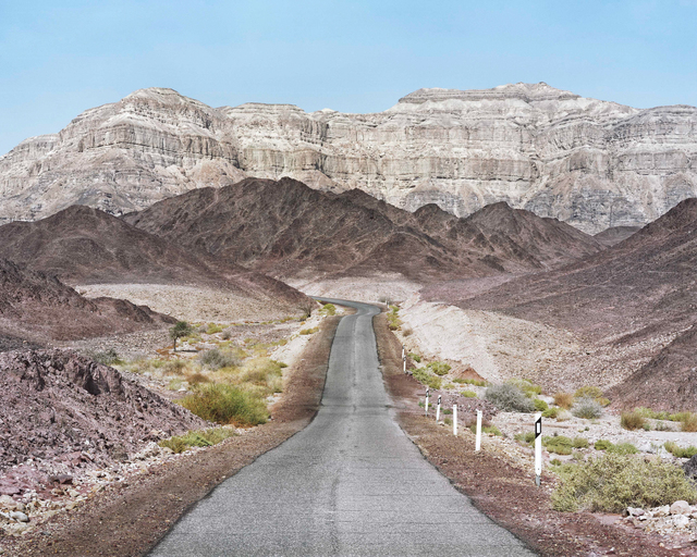 , 'Scenic Route, Timna National Park, the Arava,' 2016, PHOTO IS:RAEL